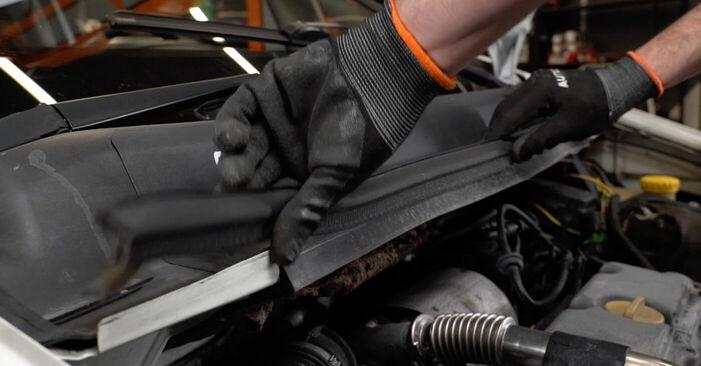 Смяна на Opel Zafira f75 1.8 16V (F75) 2001 Горивен филтър: безплатни наръчници за ремонт