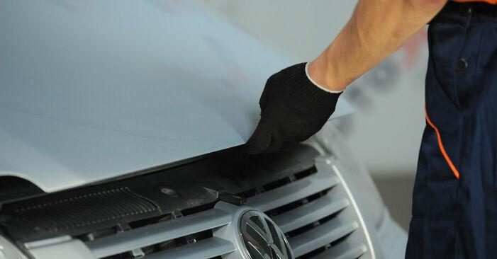 Schritt-für-Schritt-Anleitung zum selbstständigen Wechsel von VW Sharan 1 2008 2.0 Kraftstofffilter