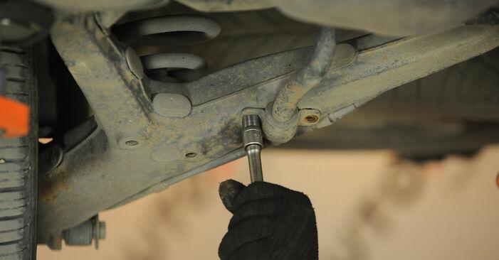 Смяна на VW Sharan 1 2.0 TDI 1997 Тампони Стабилизираща Щанга: безплатни наръчници за ремонт
