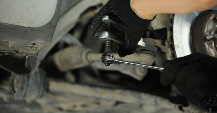 FORD FOCUS 2011 Spurstangenkopf Schritt-für-Schritt-Tutorial zum Teilewechsel