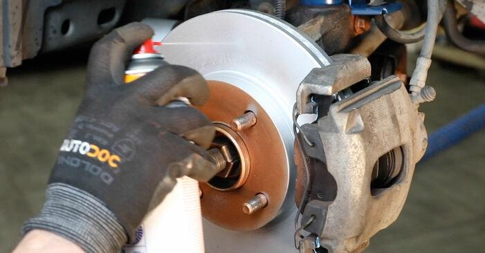 Wie man FORD FOCUS 1.6 Ti 2008 Bremssattel wechselt - Einfach nachzuvollziehende Tutorials online