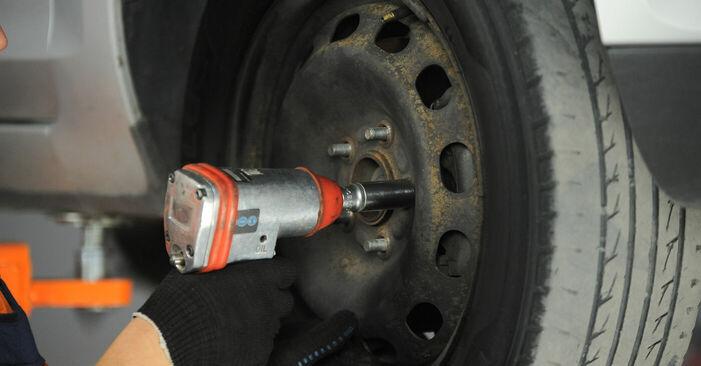 Tauschen Sie Bremssattel beim FORD Focus II Schrägheck (DA_, HCP, DP) 2.5 ST 2007 selbst aus