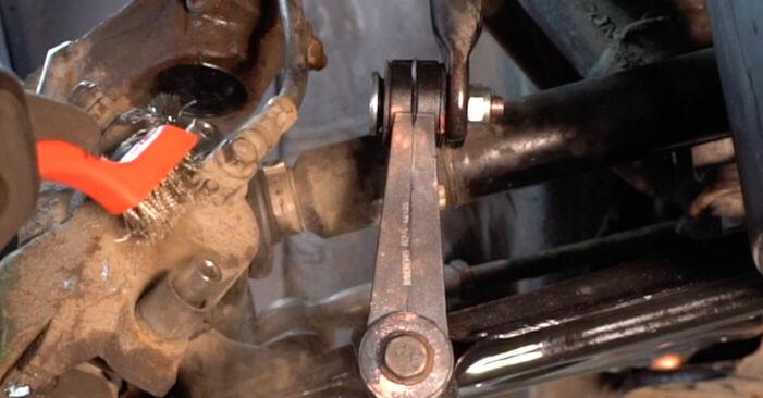 FORD FOCUS 2011 Bremssattel Schritt-für-Schritt-Tutorial zum Teilewechsel