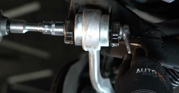 Jak zdjąć BMW 5 SERIES 525tds 2.5 1999 Wahacz - łatwe w użyciu instrukcje online