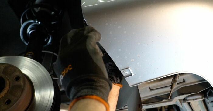 Смяна на Носач На Кола на BMW E39 1996 523i 2.5 самостоятелно