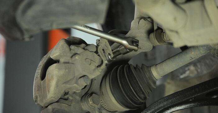 Wie VW SHARAN 2.0 1999 Radlager ausbauen - Einfach zu verstehende Anleitungen online