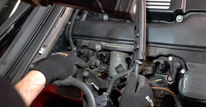 Schritt-für-Schritt-Anleitung zum selbstständigen Wechsel von BMW e46 Cabrio 2003 323Ci 2.5 Zündkerzen