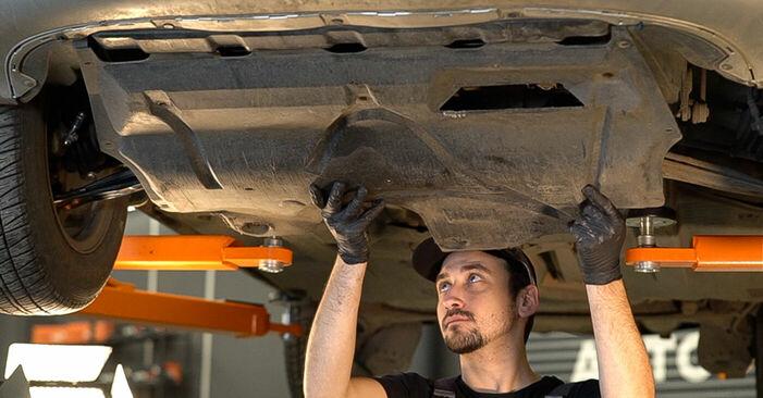 Κάντε μόνοι σας την αντικατάσταση SKODA Fabia I Combi (6Y5) 1.2 2003 Λάδι κιβωτίου ταχυτήτων - online tutorial