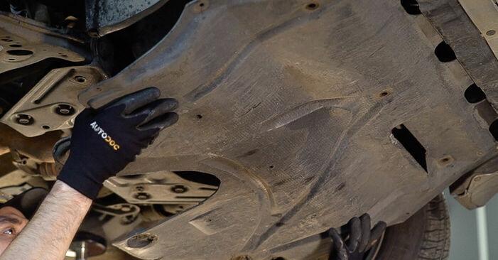 Wechseln Sie Motorlager beim SKODA FABIA Combi (6Y5) 1.4 2002 selbst aus