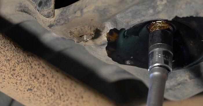 Wie problematisch ist es, selber zu reparieren: Motorlager beim Skoda Fabia 6y5 1.4 16V 2005 auswechseln – Downloaden Sie sich bebilderte Tutorials
