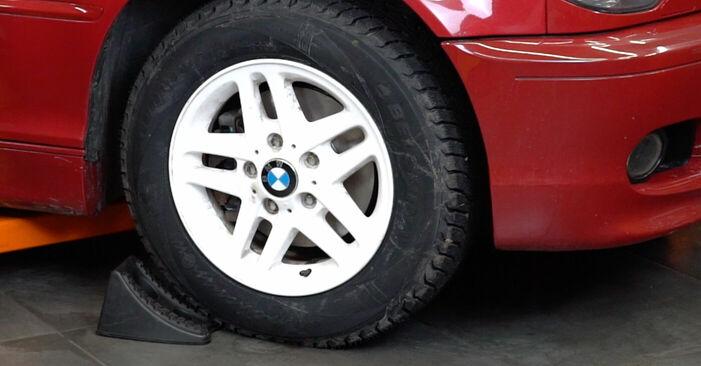 Wie Stabigummis BMW e46 Cabrio 330Ci 3.0 1998 tauschen - Kostenlose PDF- und Videoanleitungen