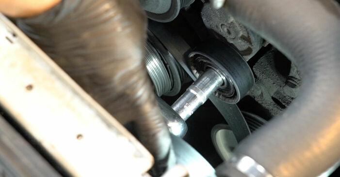 Tauschen Sie Keilrippenriemen beim BMW E39 1991 523i 2.5 selber aus