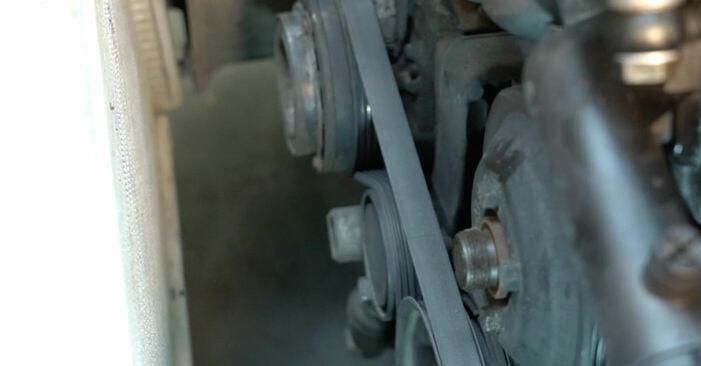 BMW E39 530d 3.0 1992 Keilrippenriemen wechseln: Gratis Reparaturanleitungen
