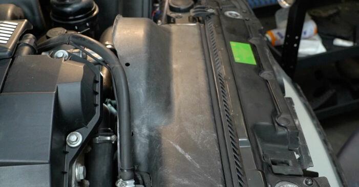 BMW 5 SERIES 1997 Keilrippenriemen Schritt-für-Schritt-Tutorial zum Teilewechsel