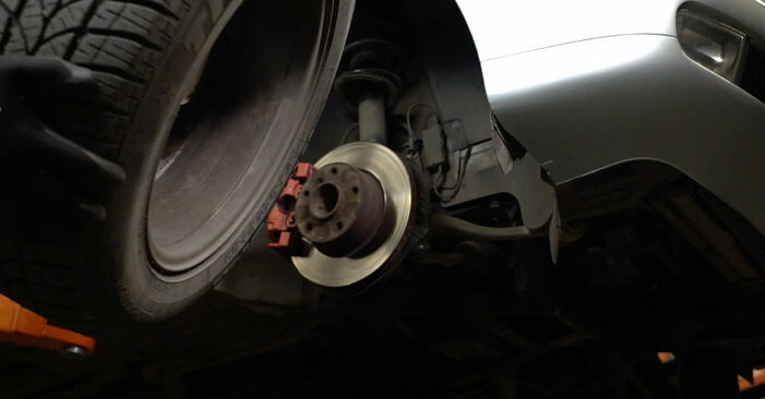 5 (E39) 525tds 2.5 1997 530d 3.0 Bremsscheiben - Handbuch zum Wechsel und der Reparatur eigenständig