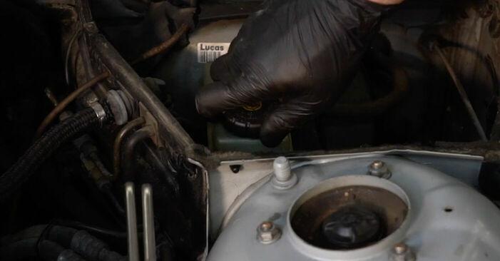 Tausch Tutorial Bremsscheiben am BMW 5 (E39) 1998 wechselt - Tipps und Tricks