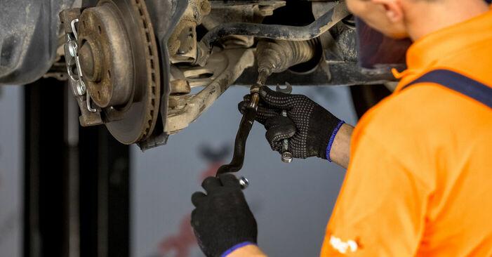 Austauschen Anleitung Spurstangenkopf am BMW E46 2000 320d 2.0 selbst