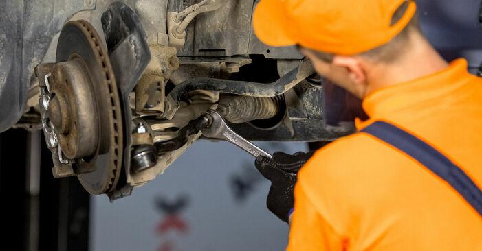 Schritt-für-Schritt-Anleitung zum selbstständigen Wechsel von BMW E46 2003 316i 1.9 Spurstangenkopf