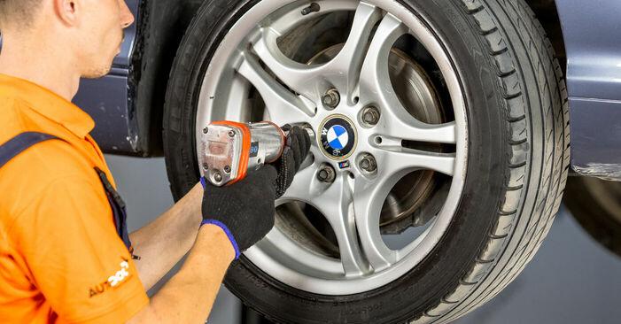 Spurstangenkopf BMW E46 320i 2.2 2000 wechseln: Kostenlose Reparaturhandbücher