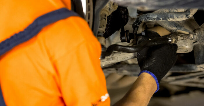 BMW 3 SERIES 320d 2.0 Koppelstange ausbauen: Anweisungen und Video-Tutorials online