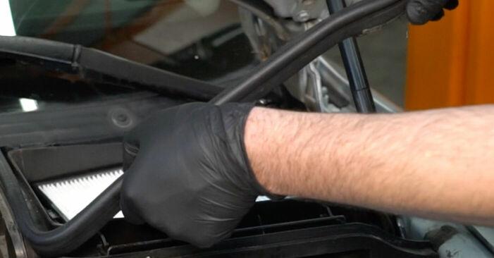 Wie man BMW 5 SERIES 525tds 2.5 1999 Bremsbeläge wechselt – Leicht verständliche Wegleitungen online
