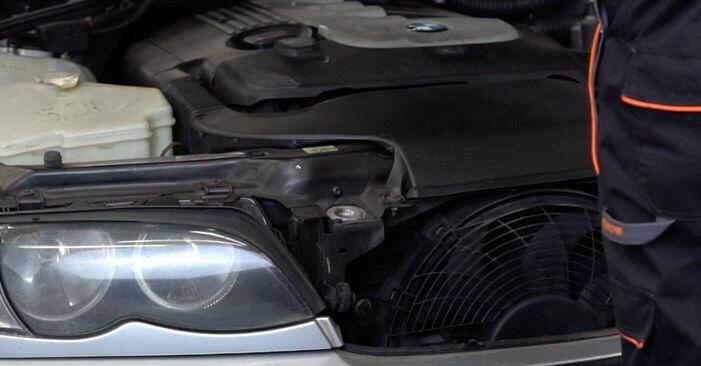 Wie Bremsbeläge BMW 3 Touring (E46) 320d 2.0 1998 tauschen - Kostenlose PDF- und Videoanleitungen