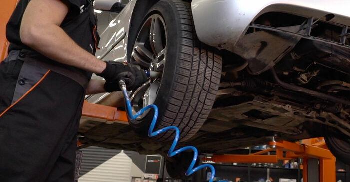 Wie BMW 3 SERIES 330d 3.0 2002 Bremsbeläge ausbauen - Einfach zu verstehende Anleitungen online