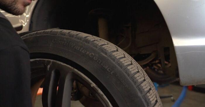 Bremsbeläge am BMW 3 Touring (E46) 330i 3.0 2003 wechseln – Laden Sie sich PDF-Handbücher und Videoanleitungen herunter