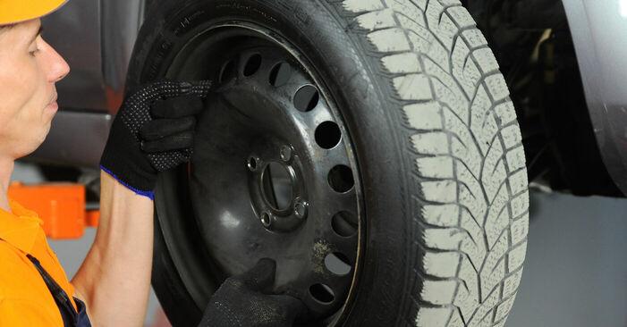 Bremsscheiben Renault Scenic 2 1.6 2005 wechseln: Kostenlose Reparaturhandbücher