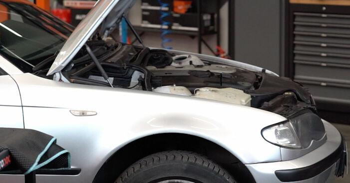 Wie Koppelstange BMW 3 Touring (E46) 320d 2.0 1998 tauschen - Kostenlose PDF- und Videoanleitungen