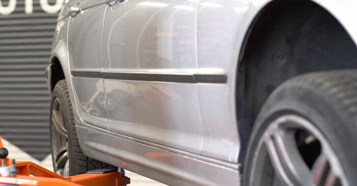Wechseln Koppelstange am BMW 3 Touring (E46) 318i 2.0 2001 selber