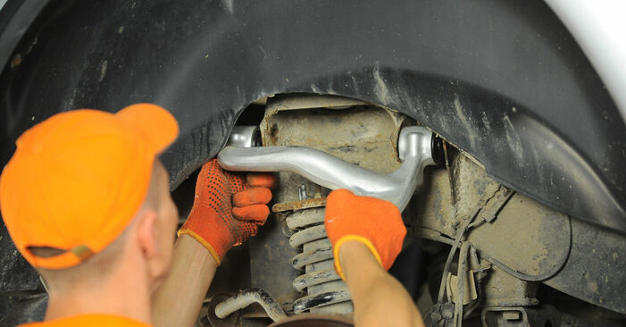 Step-by-step recommendations for DIY replacement ML W163 2003 ML 430 4.3 (163.172) Control Arm