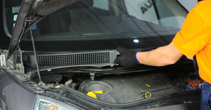 How to replace Springs on RENAULT SCÉNIC II (JM0/1_) 2008: download PDF manuals and video instructions