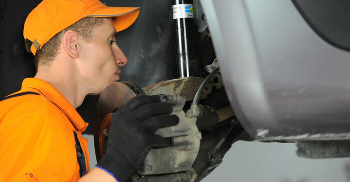 Changing Springs on RENAULT SCÉNIC II (JM0/1_) 1.6 16V 2006 by yourself