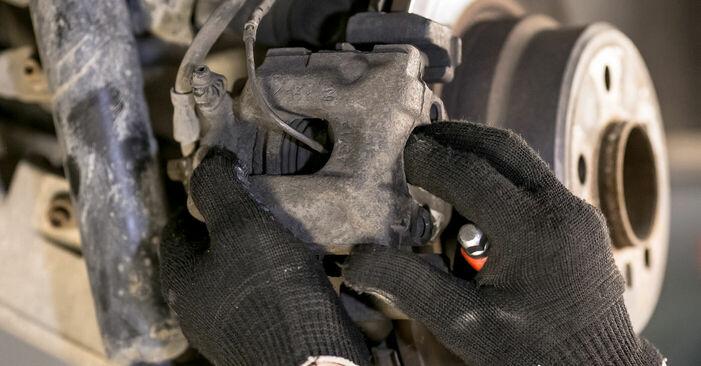 Tausch Tutorial Bremssattel am BMW X5 (E53) 2004 wechselt - Tipps und Tricks