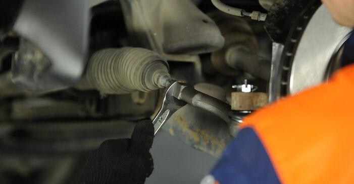Spurstangenkopf KIA Sorento jc 3.5 V6 2004 wechseln: Kostenlose Reparaturhandbücher