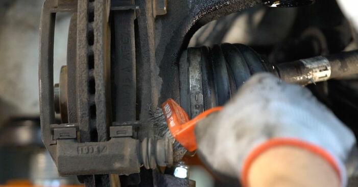 Austauschen Anleitung Bremsscheiben am KIA Sorento jc 2012 2.5 CRDi selbst