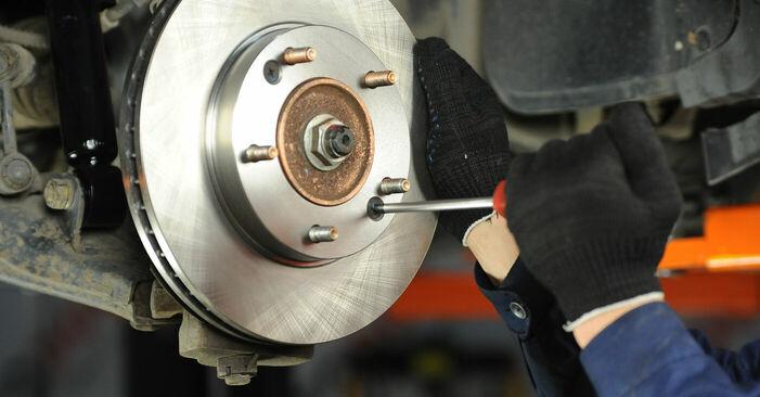 Bremsscheiben KIA Sorento jc 3.5 V6 2004 wechseln: Kostenlose Reparaturhandbücher