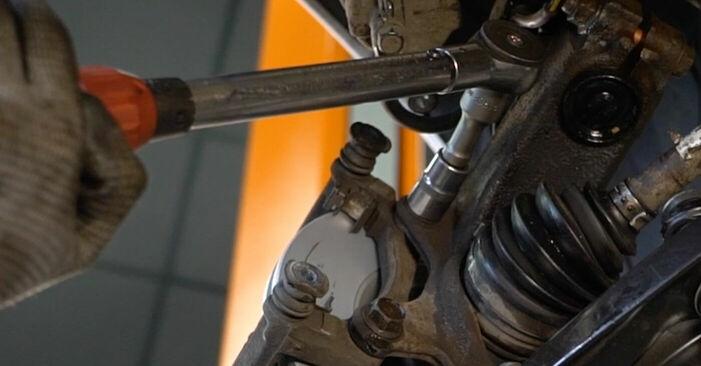KIA SORENTO 3.5 Bremsscheiben ausbauen: Anweisungen und Video-Tutorials online