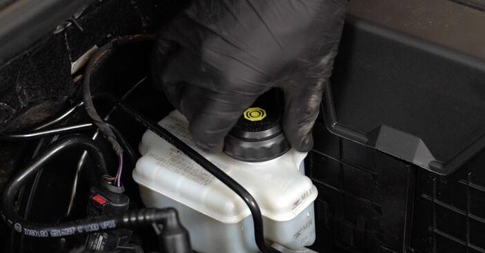 Wieviel Zeit nimmt der Austausch in Anspruch: Bremsbeläge beim Audi A3 8p1 2011 - Ausführliche PDF-Anleitung