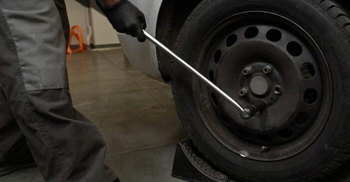 Audi A3 8p1 1.9 TDI 2005 Bremsbeläge wechseln: Gratis Reparaturanleitungen