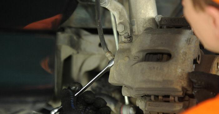 Schritt-für-Schritt-Anleitung zum selbstständigen Wechsel von BMW E39 1999 525tds 2.5 Bremssattel