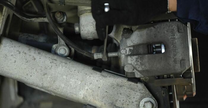 Wie lange braucht der Teilewechsel: Bremssattel am BMW E39 2003 - Einlässliche PDF-Wegleitung