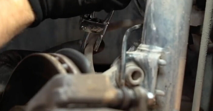 BMW 5 SERIES 2002 Bremssattel Schrittweise Anleitungen zum Wechsel von Autoteilen
