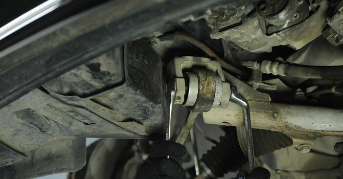 Wie lange braucht der Teilewechsel: Federn am BMW E39 2003 - Einlässliche PDF-Wegleitung