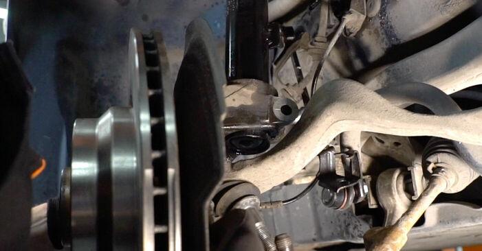 Ersetzen Sie Federn am BMW E39 1996 523i 2.5 selbst