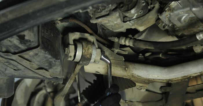 Wie lange braucht der Teilewechsel: Domlager am BMW E39 2003 - Einlässliche PDF-Wegleitung