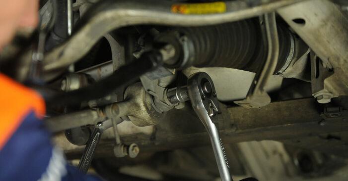Ersetzen Sie Domlager am BMW E39 1996 523i 2.5 selbst