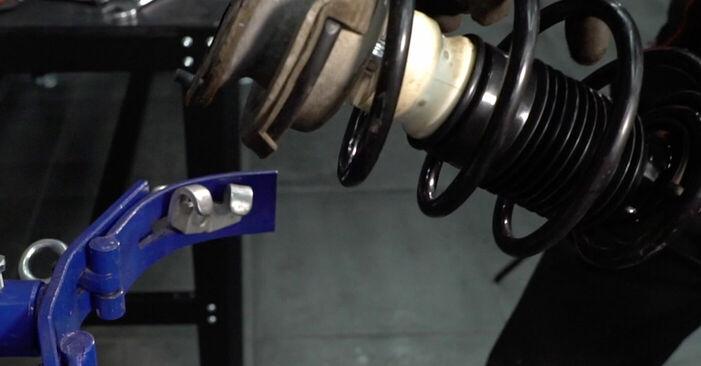 Wie man Domlager am BMW E39 1995 ersetzt - Kostenfreie PDF- und Videotipps