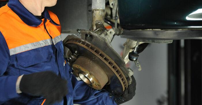 Wie kompliziert ist es, selbst zu reparieren: Domlager am BMW E39 525i 2.5 2001 ersetzen – Laden Sie sich illustrierte Wegleitungen herunter